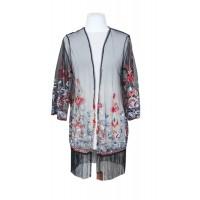 lace kimono embroidery