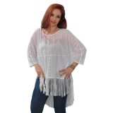 ASYMMETRIC TOP WITH FRINGES