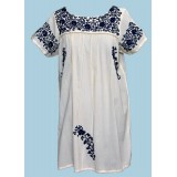 MIDI HAND-EMBROIDERED DRESS